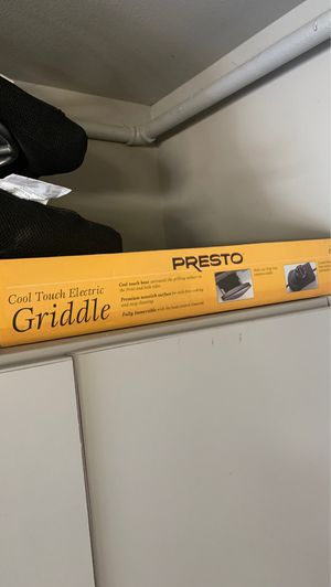 NEW: Presto cool touch electric griddle for Sale in Redmond, WA