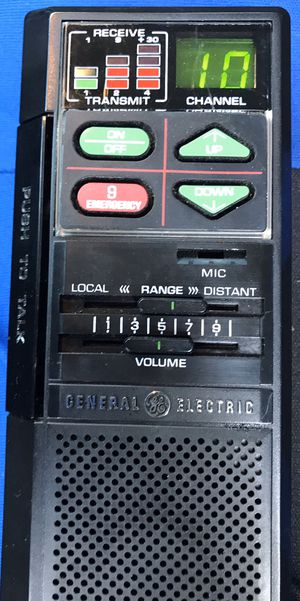 GE 40 Channel 2- Way Emergency / Info CB Radio. Tested and working good for Sale in Bradenton, FL