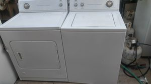 Set washer and gas dryer for Sale in Palmdale, CA