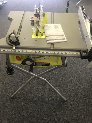 """Ryobi 10"""" Table Saw for Sale in Atlanta, GA"""
