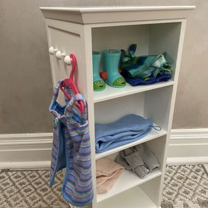 American Girl White Tower Storage Cabinet for Sale in Montville, NJ
