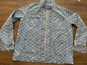 Supreme Louis Vuitton Denim jacket 🧥 for Sale in Hollywood, FL