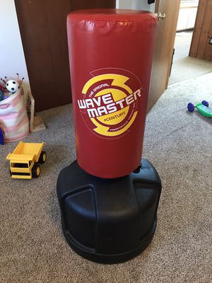 Standing punching bag for Sale in UPR MAKEFIELD, PA