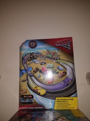 Cars 3 race track toy for Sale in Charlotte, NC
