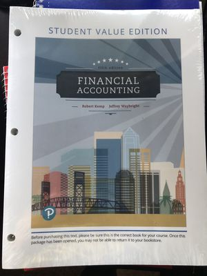 Financial Accounting Mira Costa College ACCT 201 for Sale in Oceanside, CA