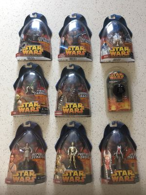 Star Wars Revenge of The Sith Action Figures for Sale in Richmond, CA