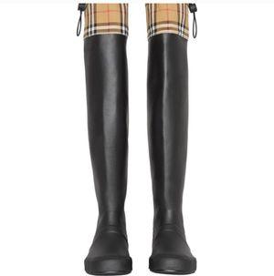 Burberry Knee-High Rain Boot for Sale in Golden Oak, FL