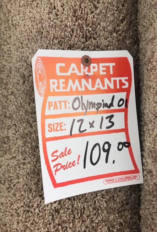 Carpet Remnant For 109 For Sale In Melrose Park Il Offerup