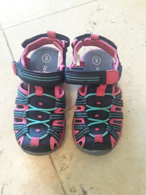 863813c46993 Like new Cat and Jack water activity sandals size 9 for Sale in Rancho  Cucamonga