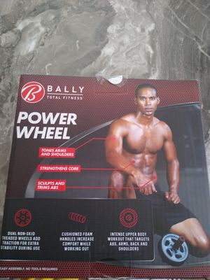 New Bally's ab wheel shipping only no pickup for Sale in Apalachicola, FL