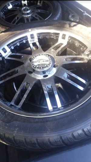 "22x9.5 tires and 22"" rims (truck), great condition for Sale in Nashville, TN"