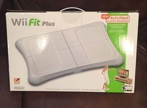 Wii fit plus Board with game New and Sealed for Sale in Fort Washington, MD