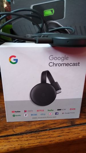 Google Chromecast new in box 25 for Sale in Los Angeles, CA