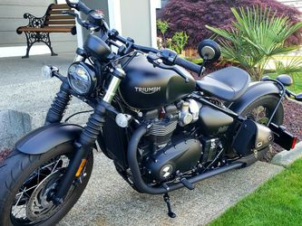 2018 Triumph Bonneville Bobber Black for Sale in Tacoma,  WA