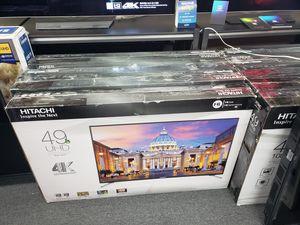 """49"""" Hitachi uhd 4k for Sale in San Bernardino, CA"""