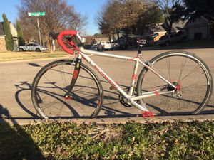 Road Triathlon bike - size: extra small 48cm kids 700c wheels for Sale in Grand Prairie, TX
