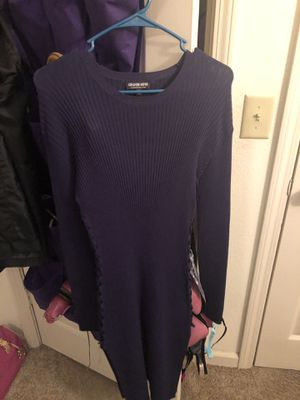 Fashion nova Navy Blue Size 2X body con dress for Sale in Murfreesboro, TN