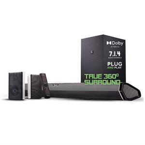 "Nakamichi Shockwafe Pro 7.1.4 Channel 600W Dolby Atmos Soundbar with 8"" Wireless Subwoofer, 2 Rear Surround speakers for Sale in Phoenix, AZ"