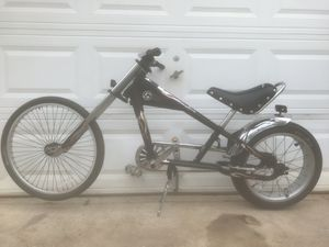 "Schwinn Stingray Bike OCC Chopper Black/Silver 20"" for Sale in Stone Mountain, GA"