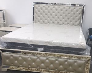 King bed frame for Sale in Greensboro, NC