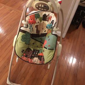 Fisher Price baby swing & rocker for Sale in Sterling, VA