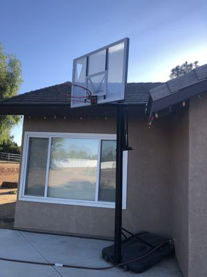 Basketball hoop $40 for Sale in Riverside, CA