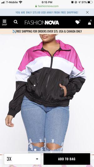 Fashion nova 3x jackets for Sale in Montebello, CA