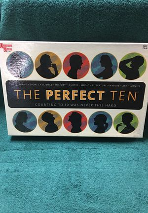 The perfect ten board game. for Sale in Dearborn Heights, MI