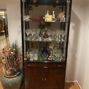 China Cabinet/ Vitrine By Henderon for Sale in Scottsdale, AZ