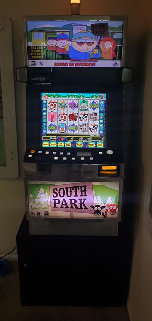 STAY SAFE WITH YOUR PERSONAL HOME CASINO SLOT MACHINE - IGT I GAME SOUTH PARK SLOT MACHINE for Sale in Severn, MD