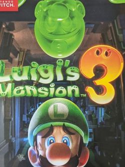 Nintendo Switch Luigi's Mansion 3 for Sale in Cypress,  CA