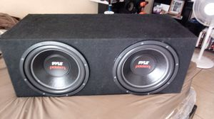Pile subwoofers 12s 1600 watts for Sale in Mesa, AZ