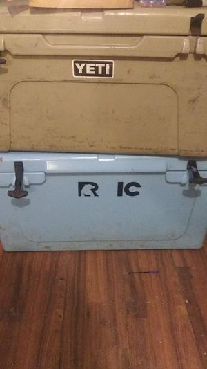 YETI 65 quart and RTIC 65 quart coolers for Sale in Baytown, TX