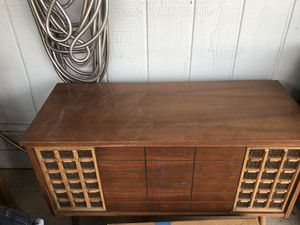 Vintage record player cabinet for Sale in Rancho Cucamonga, CA