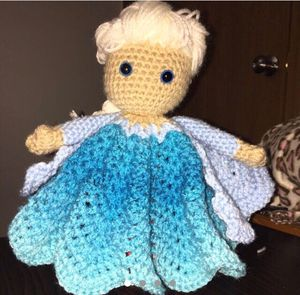 Elsa lovey/doll/security blanket for Sale in Indianapolis, IN