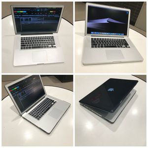 """2000GB*Macbook Pro 15"""" *intel core i7*16GB *OS-2017, DJ Serato**Office, new Fresh software, icloud unlocked, freshly installed plug and play ready for for Sale in Queens, NY"""