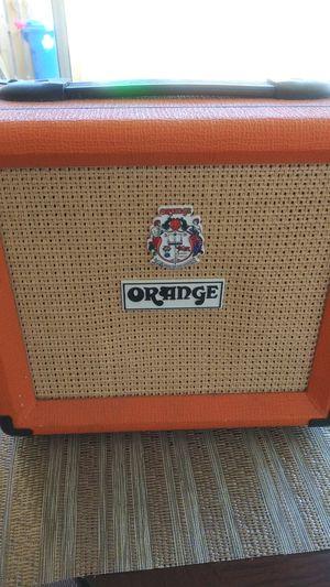 Orange AmplifiersCrush Mini 3W 1x4 Guitar Combo AmpOrange for Sale in Sunrise, FL