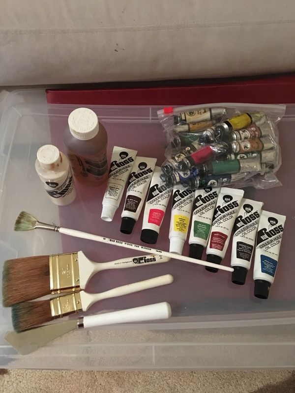 Oil Paints and Accessories