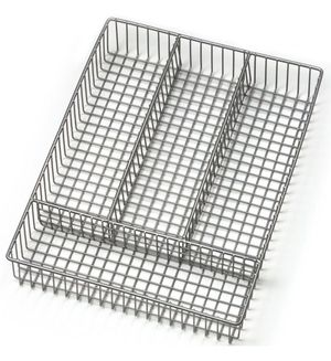 Chrome Cutlery Kitchen Organizer Tray Like NEW for Sale in Upper Saint Clair, PA
