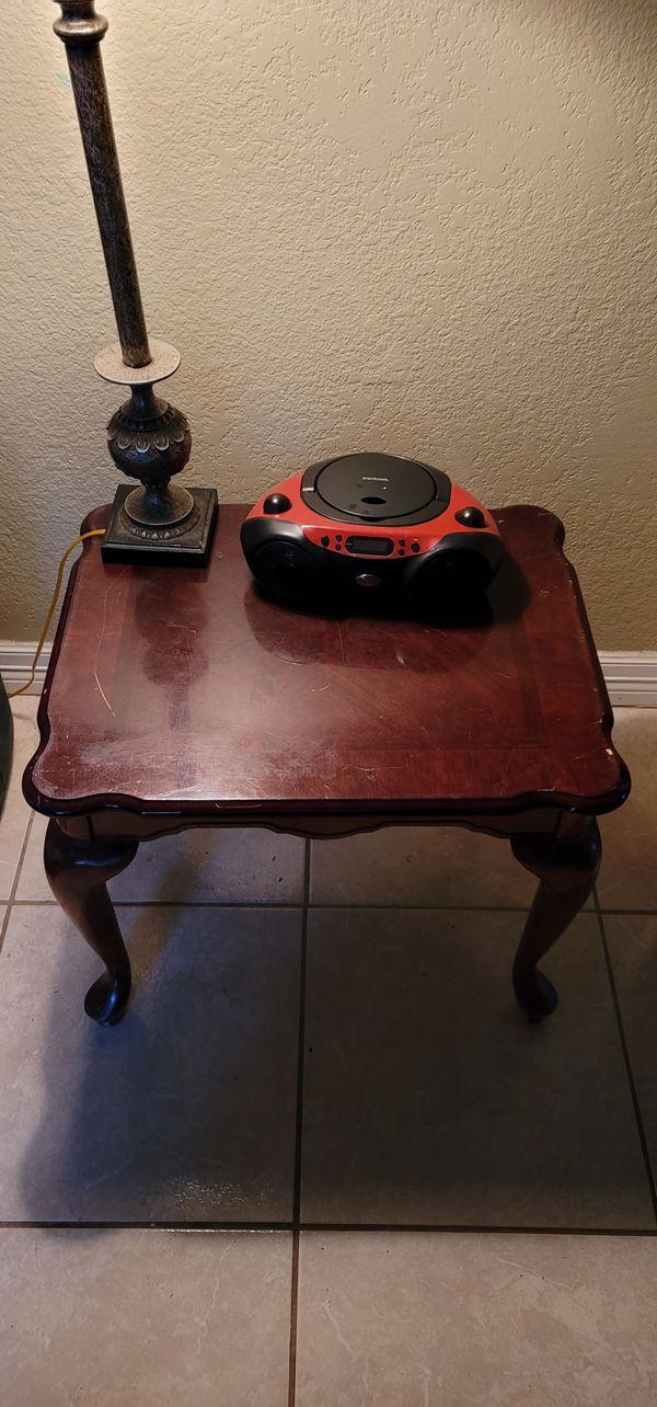 Table & Bluetooth radio