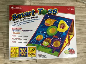 Learning Resources Smart Toss Bean Bag Tossing Game // Kids Toys for Sale in La Puente, CA