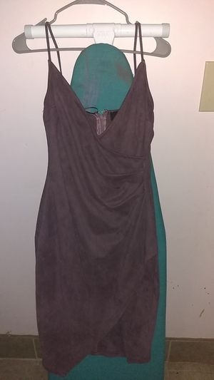 Suede purple dress for Sale in Chicago, IL