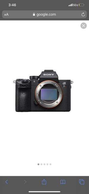 Sony a7riii with kit lens for sale or trade for Sony a7iii for Sale in Hayward, CA