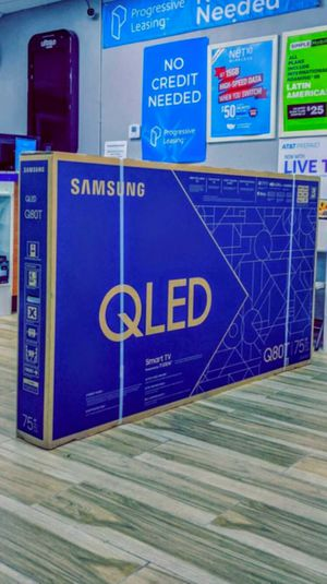 Samsung 75 inch Class - QLED Q80T Series - 4K UHD TV - Smart - LED - with HDR! Brand New in Box! One Year Warranty! for Sale in Arlington, TX
