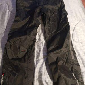 Firstgear Motorcycle Rain Pants 36 In Waist for Sale in Bonney Lake, WA