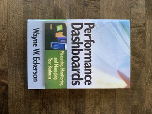 Performance Dashboards- Measuring, Monitoring, and Managing Your Business - Eckerson for Sale in Portland, OR