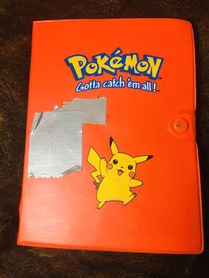 ORIGINAL FIRST GEN POKEMON BOOK + Old Pokémon cards for Sale in Providence, RI