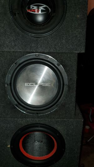 "12"" sub Eclipse for Sale in Portland, OR"
