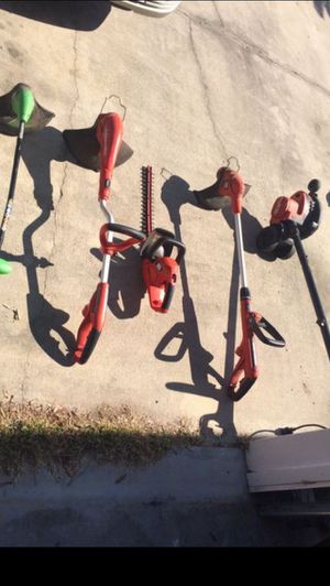 Electric LawnCare Equipment for Sale in Jacksonville, FL