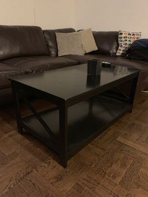 Black coffee table for Sale in New York, NY